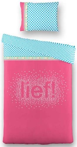 Dekbed Lief! Junior Roze 120x50