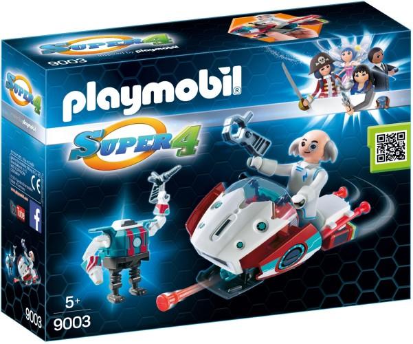 Skyjet met Dr. X & robot Playmobil (9003)