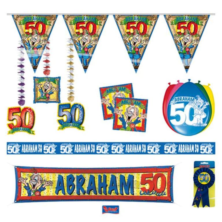 Feestpakket Abraham 50 jaar Feest