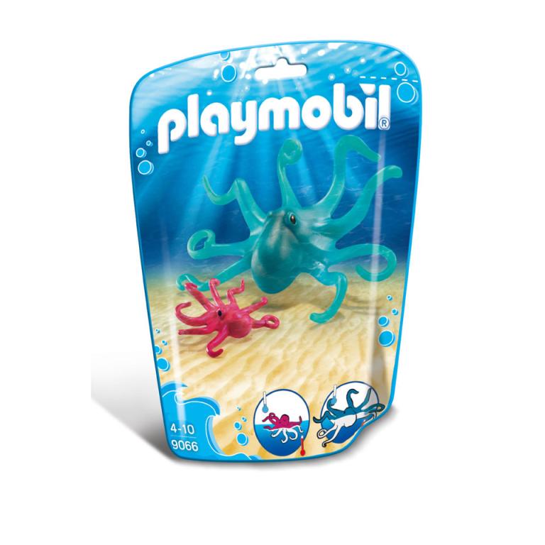 Inktvis met jong Playmobil (9066)