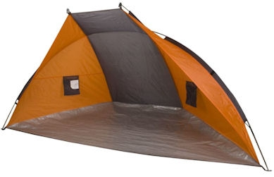 Shelter Tent Easy-up Systeem Grijs/Oranje