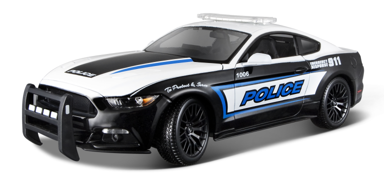 FORD MUSTANG GT POLICE 2015 limm.USA (1:18) MAISTO