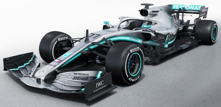 MERCEDES AMG PETRONAS FORMULA ONE TEAM F1 W10 EQ POWER+ 77 VALTTERI BOTTAS 2019 MINICHAMPS (1:18)