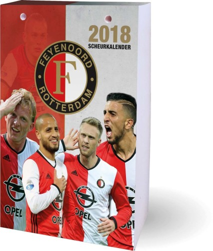 Kalender Feyenoord 2018  Scheurkalender