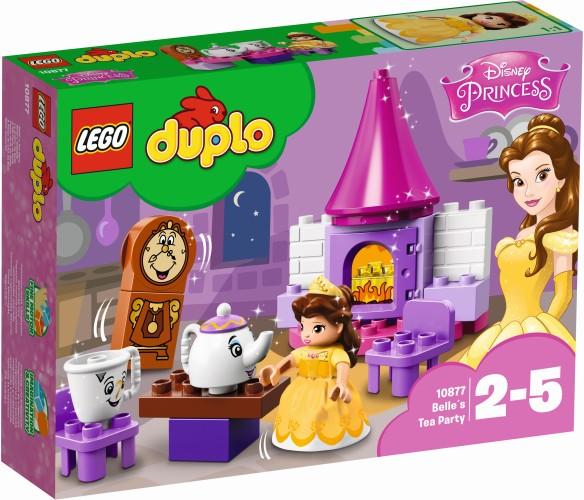 Belle`s Theekransje Lego Duplo (10877)