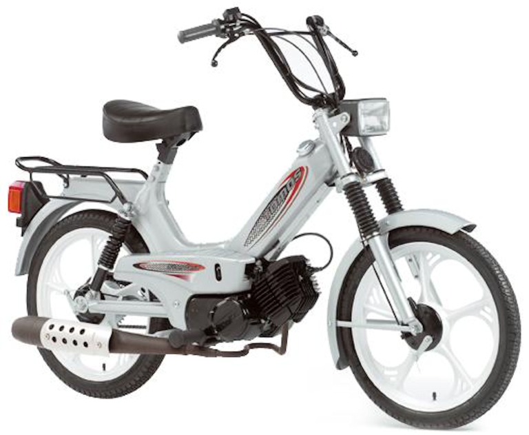 BROMFIETS 45KM STANDARD ZILVER MAGIC