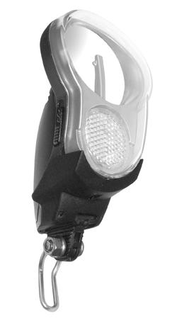LAMP V LED AXA BATTERIJ SPRINT 4 LUX ZWART