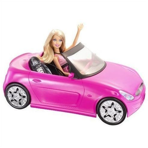 Cabrio Barbie Auto & Glam