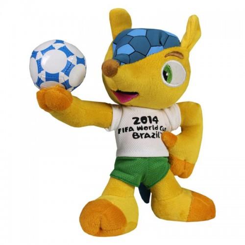 Pluche Mascotte Fifa Brazilie Logo