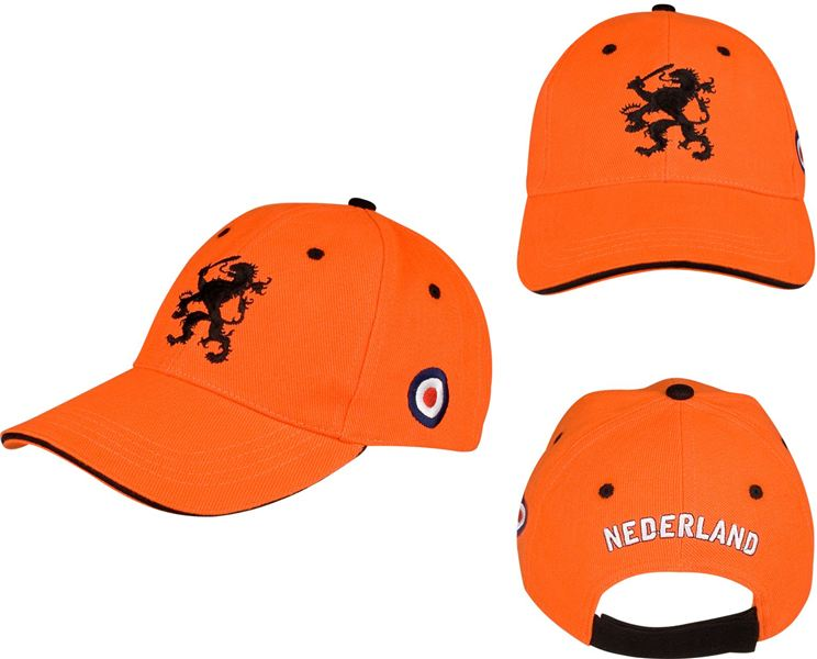Baseballcap Holland Junior Cap Oranje