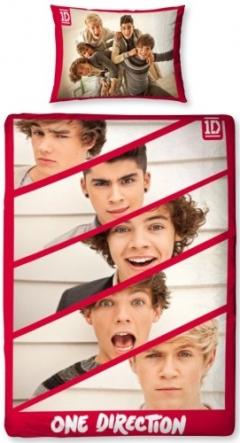 Dekbed One Direction Boyfriend 135x200/50x75 cm