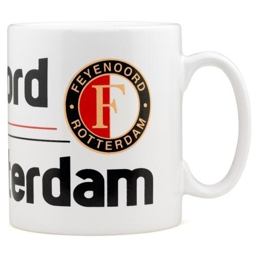 Mok Feyenoord Wit Strepen Feyenoord Rotterdam