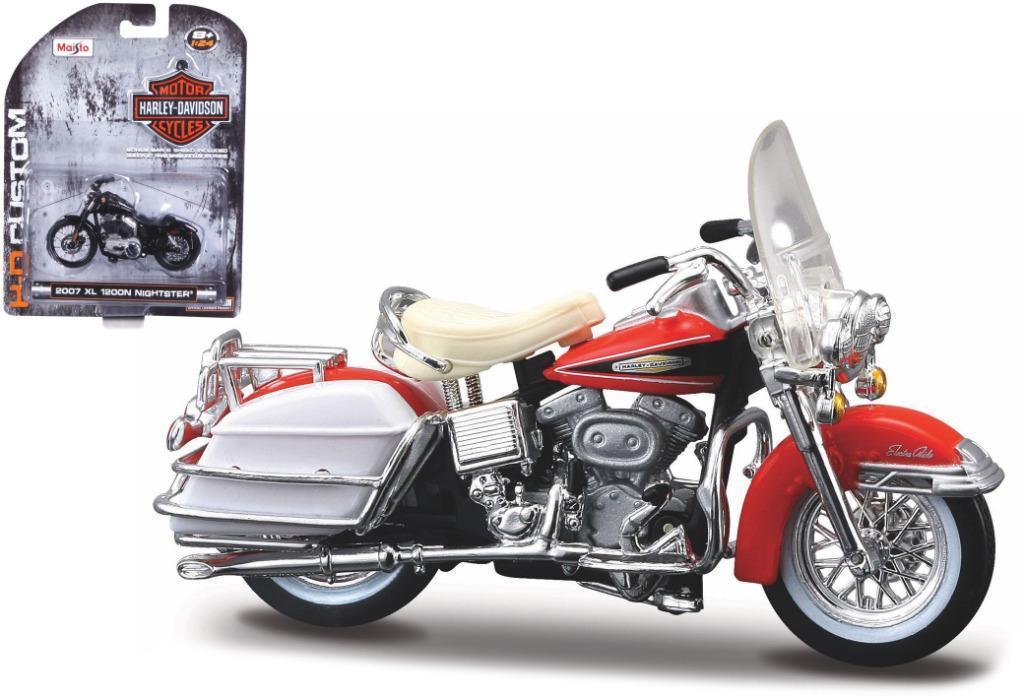 Harley-davidson FLH ELECTRA GLIDE 1968 Oranje (MAISTO1:24)