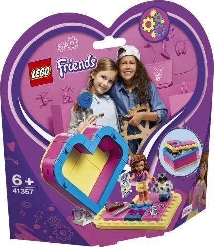 Olivia`s Hartvormige doos Lego (41357)