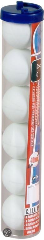 Tafeltennisballen Wit
