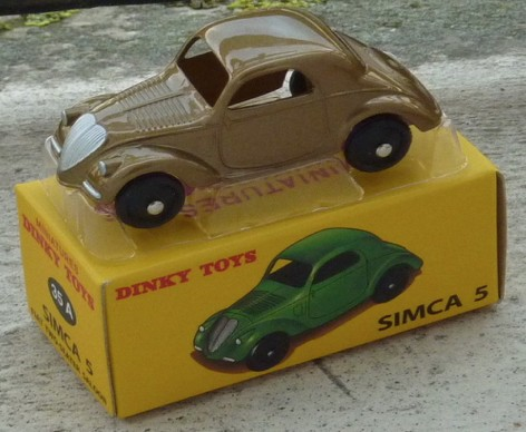 Simca 5 FIAT TOPOLINO (I:43) DINKY TOYS