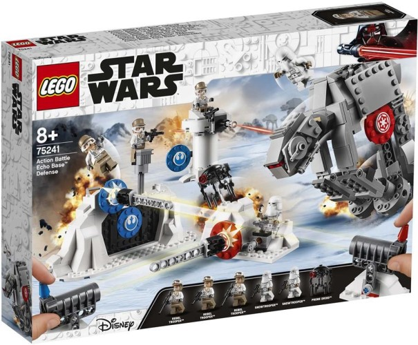Action Battle Verdediging van Echo Base Lego (75241)
