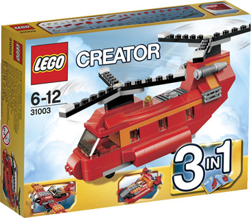 Lego 31003 Creator 3 in 1 Rode Rotors