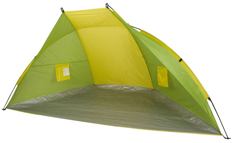 Shelter Tent Easy-up Systeem Groen/Geel