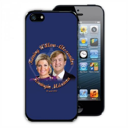 iPhone 5 Cover Koning en Koningin Maxima Alexander