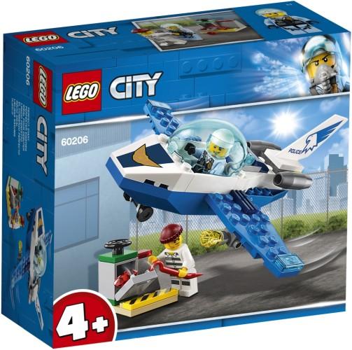 Luchtpolitie vliegtuigpatrouille Lego (60206)