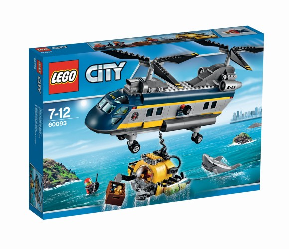 Diepzee Helikopter Lego (60093) City