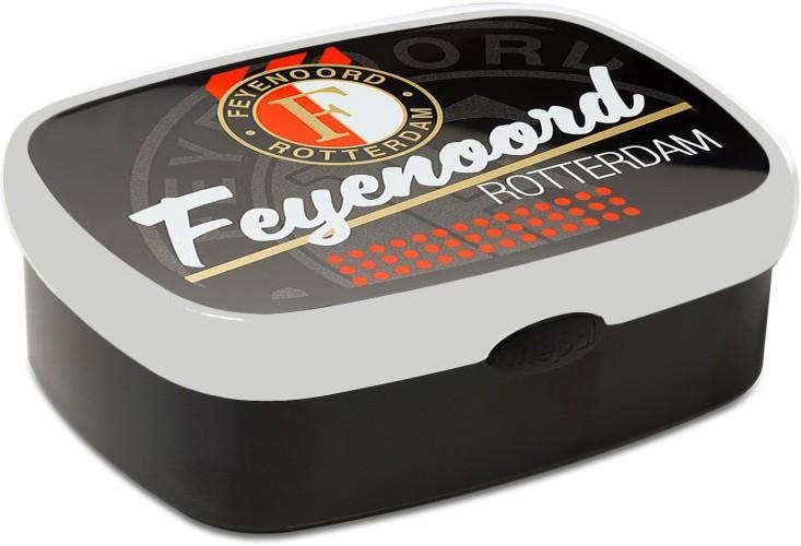 Lunchbox Feyenoord Zwart Mepal
