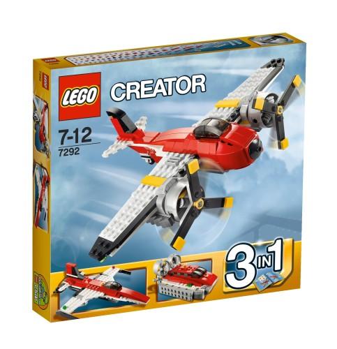 Lego 7292 Creator 3 in 1 Propellervliegtuig