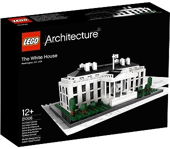 Architecture The White House Lego 21006