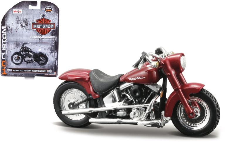 Harley-davidson FLSTF STREET STALKER 2000 (MAISTO 1:18)