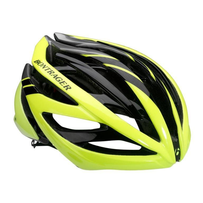 Helmet Bontrager Velocis Medium Titanium/Viz/Black