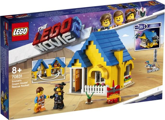 Emmets droomhuis-reddingsraket Lego (70831)