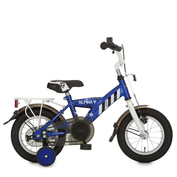 Alpina fiets Yabber 12 jongens r blauw