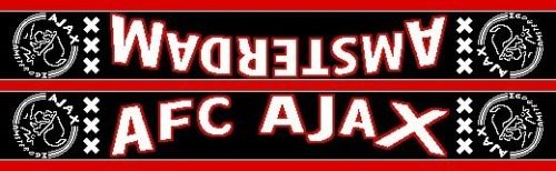 Ajax Sjaal Rood/Zwart AFC/Amsterdam (SJAA018500)