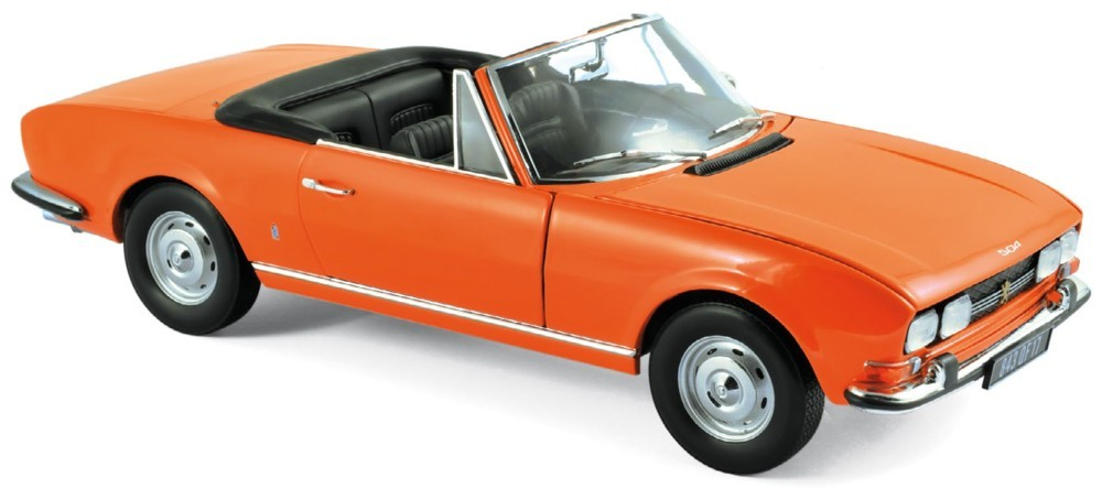 Peugeot 504 CABRIOLET 1970 1:24 WELLY