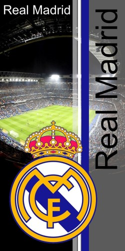 Badlaken Real Madrid Stadion 75x150 cm