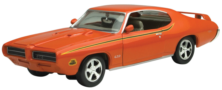 PONTIAC GTO JUDGE 1969 Orange (1:24)