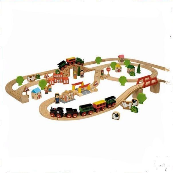 Trein Beginset Simply for Kids 100 stuks