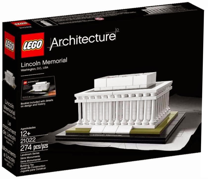 Lego Architecture Lincoln Memorial Lego 21022