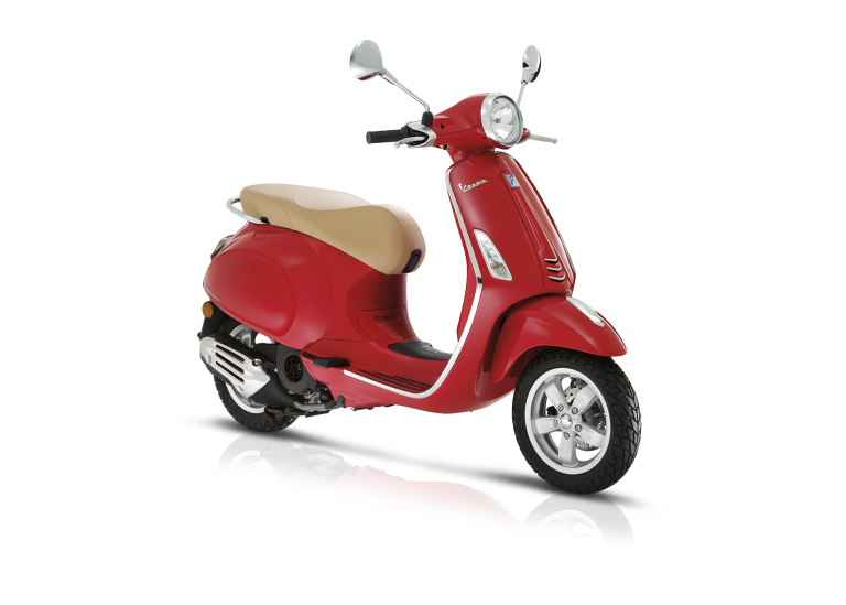 Vespa Scooter 45km Scooter Primavera 4t-4v Rood Dragon 894