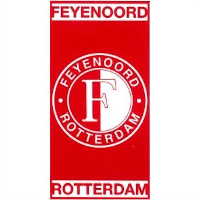 Handdoek Feyenoord Rood-Wit 100x50