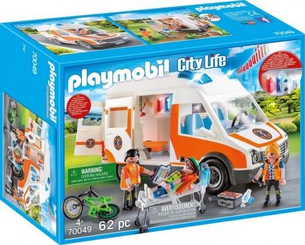 Ambulance en ambulanciers Playmobil (70049)