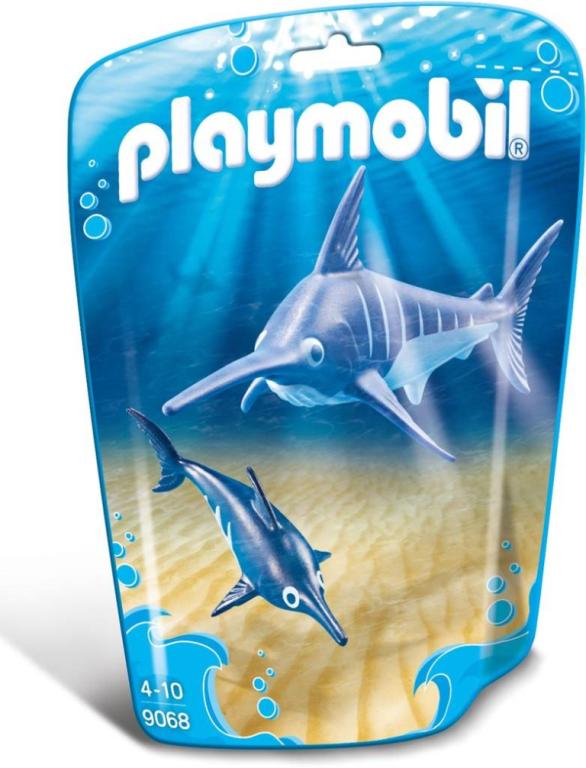 Zwaardvis met jong Playmobil (9068)
