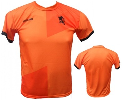 T-Shirt Replica Holland Blanco Oranje