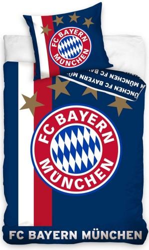 Dekbed Bayern Munchen Blauw 140x200/70x80 cm