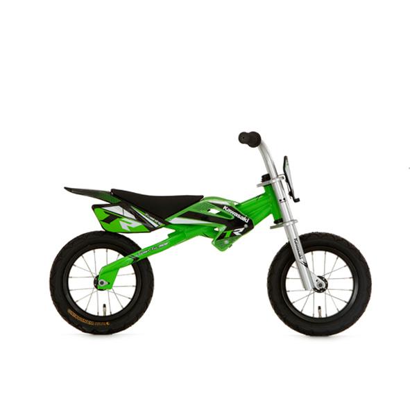 Kawasaki loopfiets 12 J metaal groen