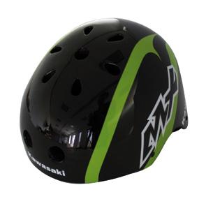 Kawasaki helm Freestyle 56/58 zwart/groen