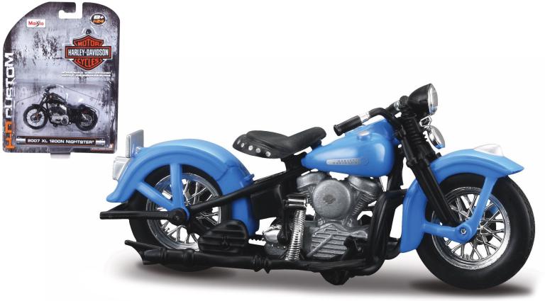 Harley-davidson FL PANHEAD 1948 (MAISTO 1:24)