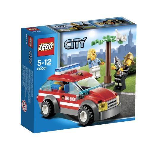 Lego 60001 Brandweercommandant Auto