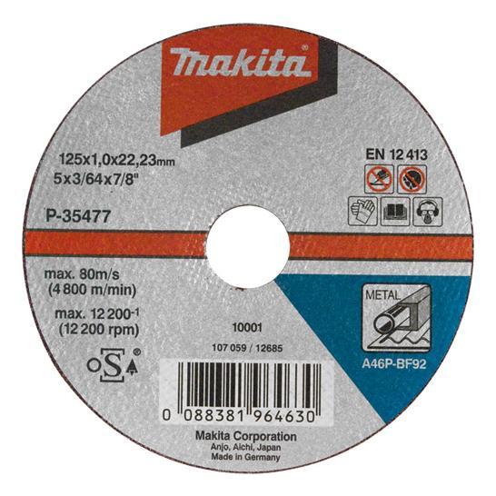 MAKITA DOORSLIJPSCHIJF 125X1.0 ST DS A 10